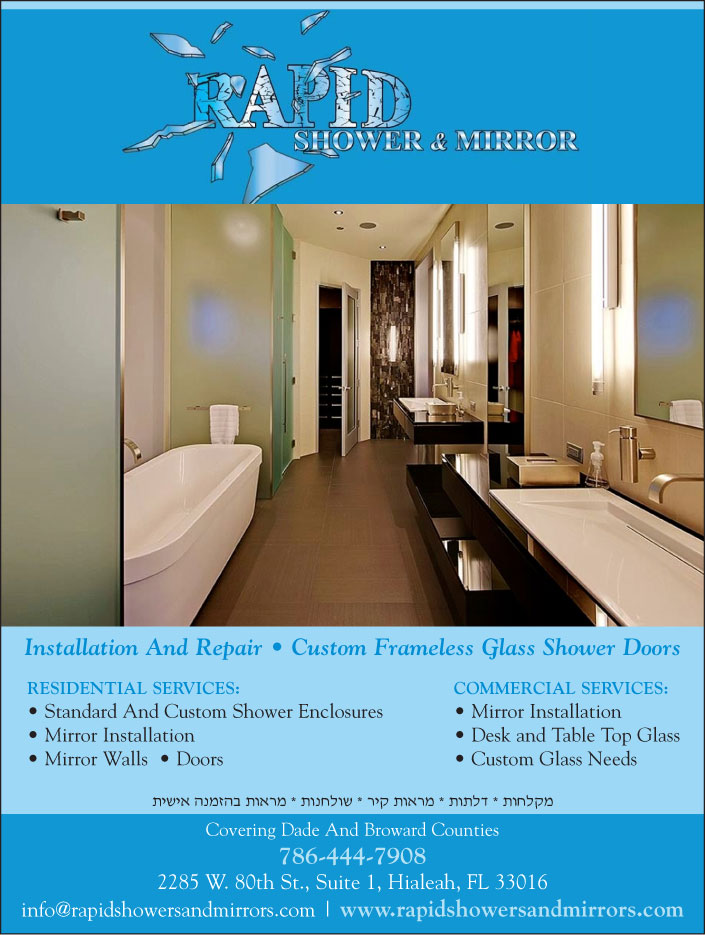 Rapid Showers and Mirrors - glass repairs, shower installation ...