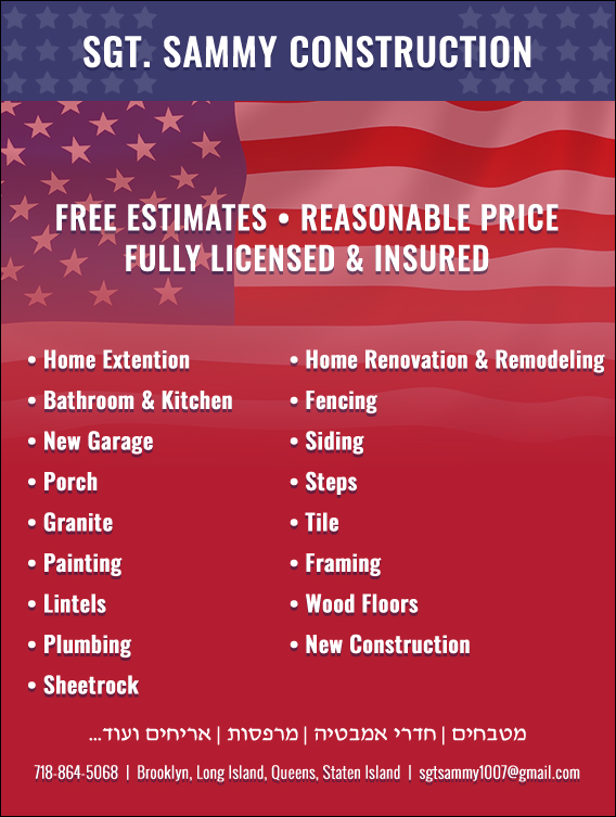 Sgt Sammy Construction Bathroom Remodeling Kitchen Remodeling Mesmerizing Bathroom Remodeling Long Island Painting