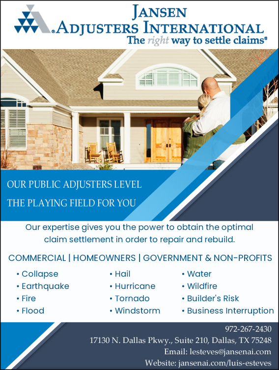 Jansen Adjusters International - public adjusting, public ...