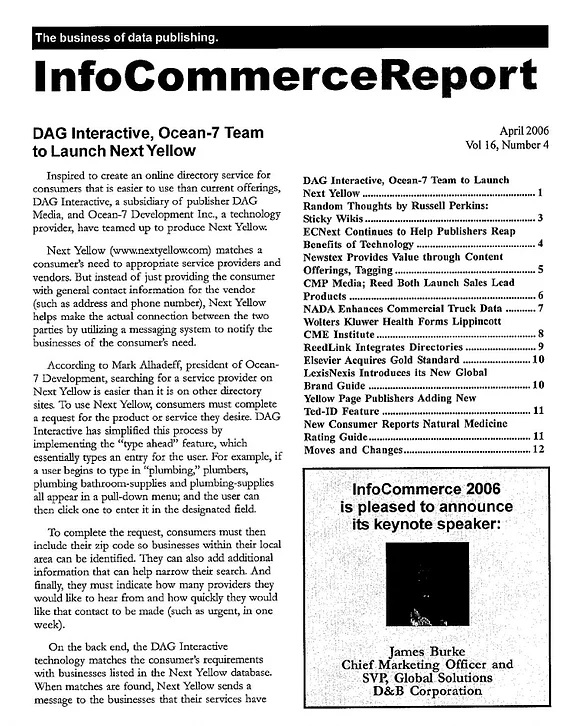 InfoCommerce Report